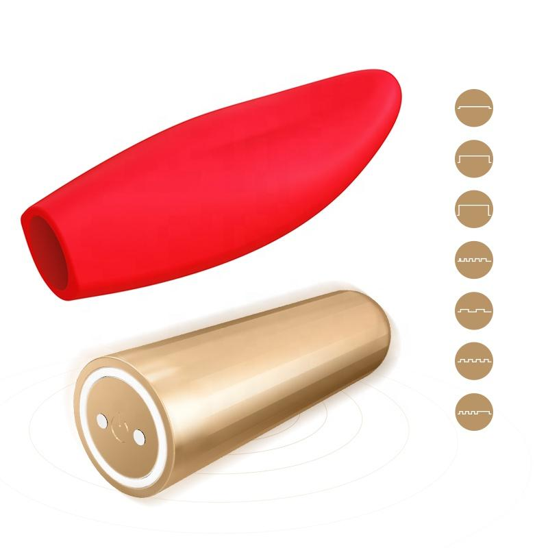 sex toy vagina stimulator mouth and tongue silicone vibrator with bullet