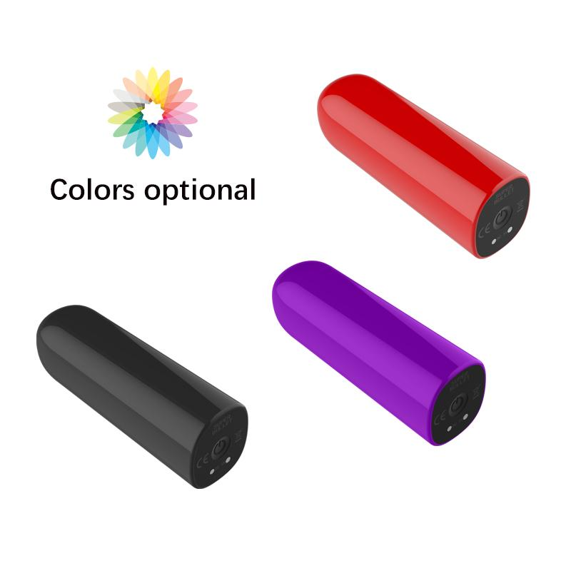 Female ce rohs japan 7 speed waterproof high power easy mini personal usb charged bullet vibrator