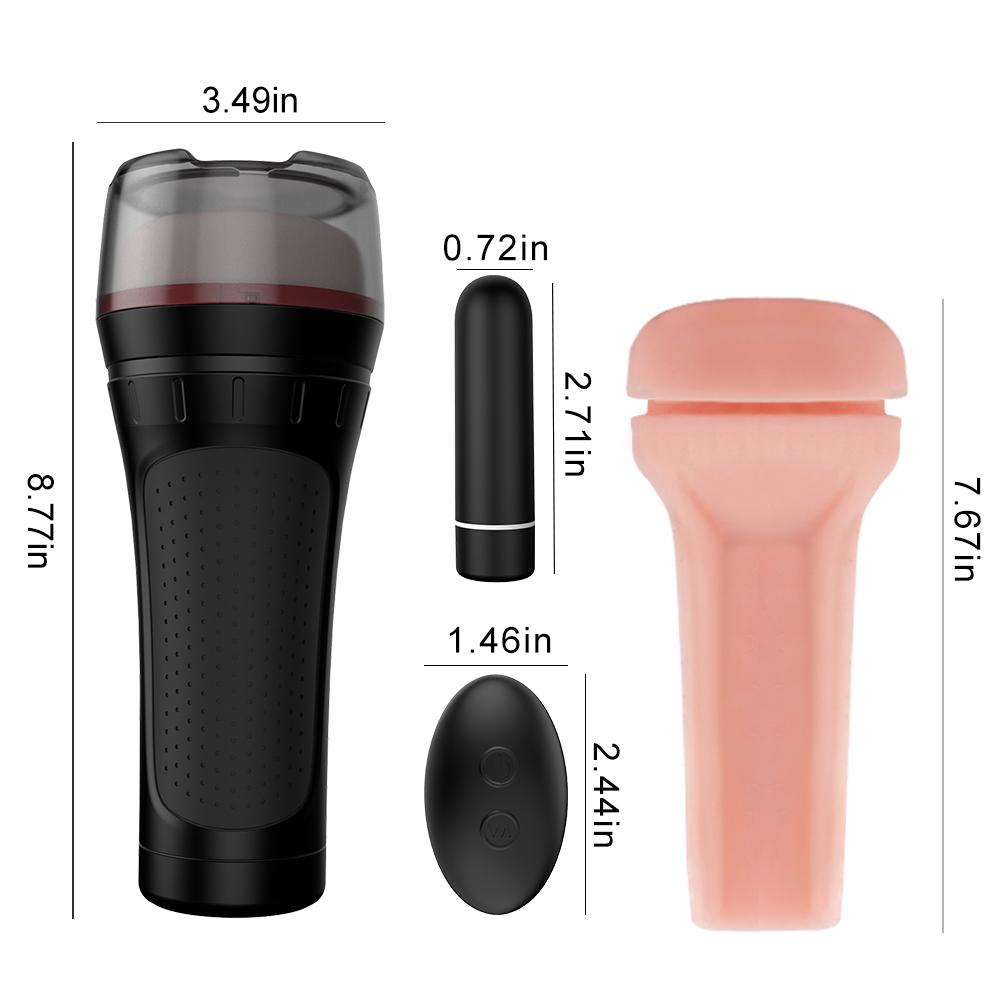 Hot Sale male sex cup Vibrator Pussy Massager Masturbator Cup Man Masturbation Cup
