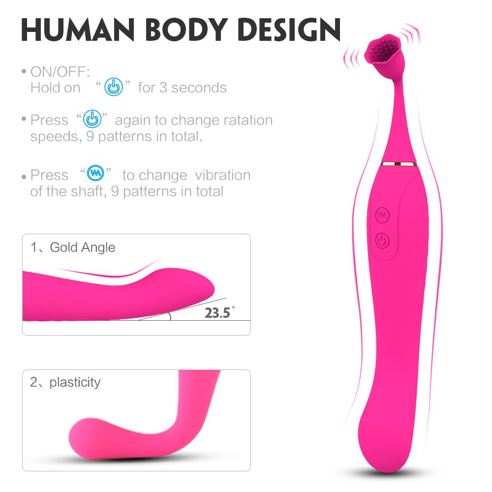 Clitoral Sucking Vibrator G Spot Sucker Vibrators Waterproof Rechargeable Clitoris Stimulator with 10 Suction