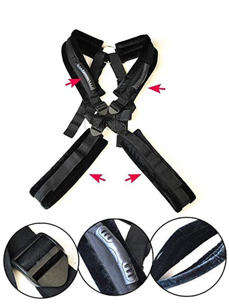 Factory price Sex toy body Soft Plush sex KIT,High Quality Bondage Sex SMDS set